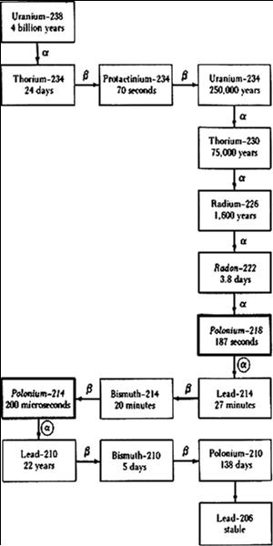 השרשרת של אורניום U-238